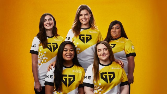 Bumble and Gen.G Field First All-female Fortnite Team