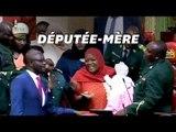 Au Kenya, la députée Zuleika Hassan sommée de quitter le Parlement avec son bébé.