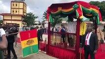 Le président burkinabé en visite à Conakry