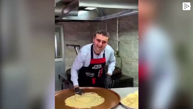 A Turkish chef does culinary 'magic' without losing his smile