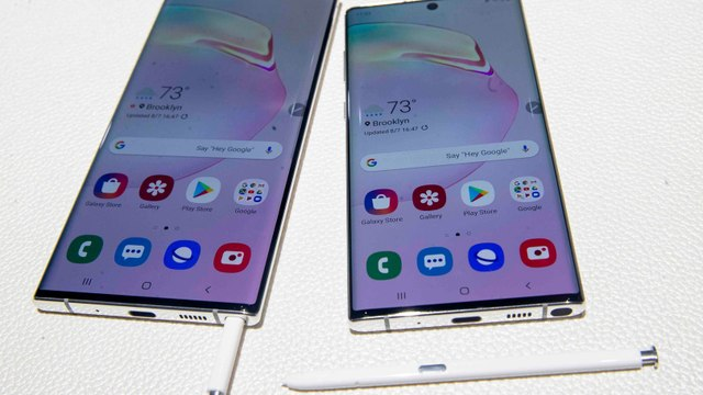 Cheddar Gets a Hands-On Look at New Samsung Galaxy Note 10+