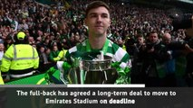 Arsenal sign Tierney