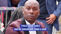Tyrese Gibson Has A Message For Dwayne Johnson