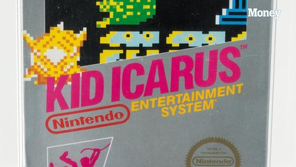 This dad found his unopened Nintendo game from 1988 and sold it at auction for thousands