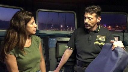 Il Tenente Colonnello Alberto Catone intervistato da Antonella Postorino