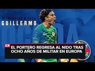 Guillermo Ochoa regresa al América