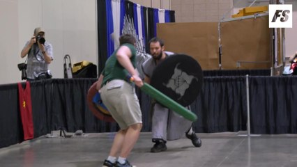 Foam fighting & archery at Con of Thrones 2019