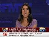 """BFM TV - 26 Juin 2009 - Extrait """"Info 360"""" (mort de Michael Jackson)"""