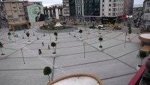 Rize Meydanı'nda meyve ağaçları çiçek açacak