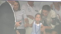 Princess Charlotte Sticks Out Her Tongue at King's Cup