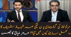 Amir Zia comments over Shehbaz's silence over Maryam Nawaz's arrest