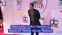 Macaulay Culkin Reacts to News of 'Home Alone' Reboot