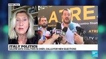 Italy government: Salvini says coaltion over analysis by Josephine McKenna