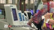 SNCF : embouteillages devant les portiques anti-fraude