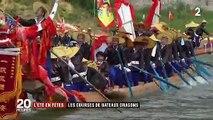 Chine : au cœur du festival des bateaux-dragons