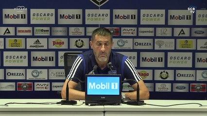 Bastia 3-1 Reims : Conf. d'après-match de S. Rossi