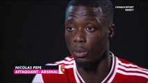 Premier League - Nicolas Pépé justifie le choix Arsenal