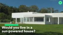¿Viviría en una casa alimentada con energía solar?