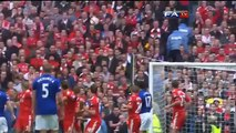 Liverpool 2-1 Everton - Jelavic, Suarez & Carroll goals and Official highlights  FA Cup 15-04-12