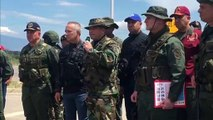 Venezuela realiza ejercicios militares en frontera con Colombia