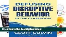 Full E-book  Defusing Disruptive Behavior in the Classroom Complete