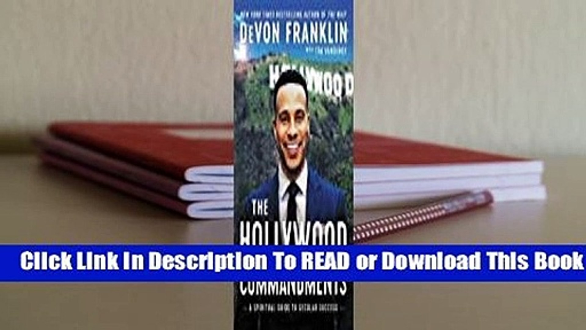 Online The Hollywood Commandments: A Spiritual Guide to Secular Success  For Online