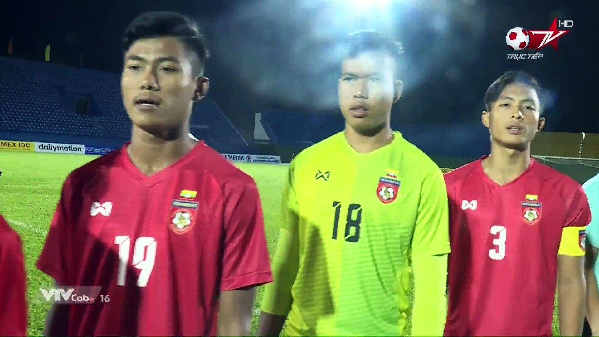 Live | U18 Myanmar - U18 Philippines | AFF U18 Next Media Cup 2019 | VFF Channel