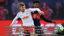 Transfer Rater Timo Werner to Liverpool, Kieran Tierney to Manchester United