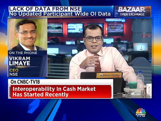 F&O data uploading delayed due to interoperability of exchanges, says NSE's Vikram Limaye