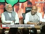 It's official. Amit Shah is the new BJP president