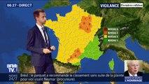 Orages: neuf départements placés en vigilance orange