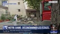 Notre-Dame: plusieurs écoles décontaminées à cause de traces de plomb trop importantes