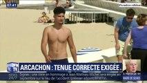 À Arcachon, il est interdit de se promener torse nu en centre-ville