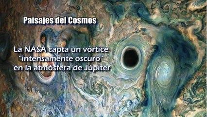 """Abismo en las nubes: NASA capta en Júpiter un vórtice """"intensamente oscuro"""""""
