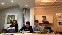 Tom Holland - Zendaya - The Brothers Trust 3rd Event Raffle Draw - Instagram Live February 18, 2018