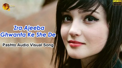 Zra Ajeeba Ghwanta Ke She De Pashto - Audio Visual Song - Tang Takoor