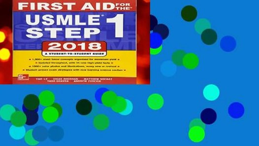 [FREE] First Aid for the USMLE Step 1 2018, 28th Edition