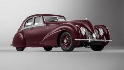 الحلقة المفقودة - قسم Mulliner يعيد تصنيع طراز 1939 من سيارة BENTLEY CORNICHE الأسطورية من جديد