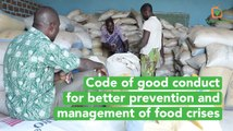 Burkina Faso: Code of good conduct for better prevention and management of food crises