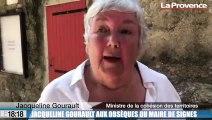 Obsèques du maire de Signes : l'hommage de la ministre Jacqueline Gourault