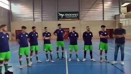 Premier stage pour l'équipe d'Algérie de Futsal à Sedan