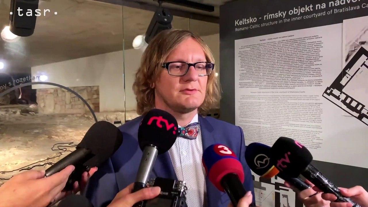 Riaditeľ SNM P. Barta:  Nálezy keltsko - rímskych stavieb nájde verejnosť v areáli Bratislavského hradu