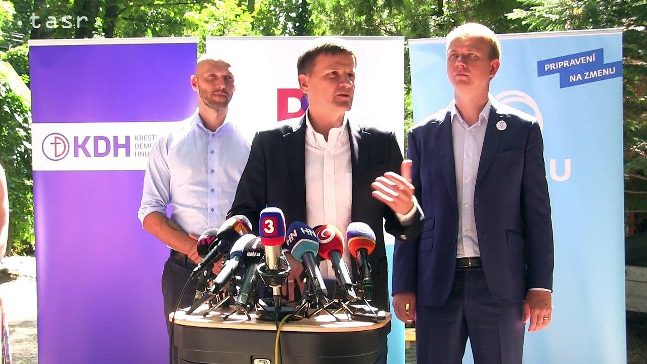 HLINA: Ak by prišlo k predloženiu zákona o registrovaných partnerstvách, KDH za ne hlasovať  nebude