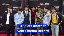 BTS Is Popular At The Movies