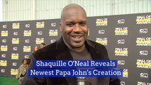 Shaq Plans To Save Papa John's With A New Dish
