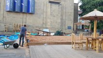 This is when a City Beach is opening in the middle of Leeds