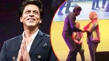Shah Rukh Khan Twerking Video As He Dances With Special Kids