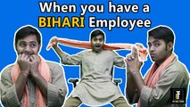 When You Have A BIHARI Guy In The Office | Comedy Video | Comedy Munch