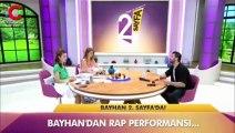 Popstar Bayhan'ın rap performansı Twitter'da trend oldu