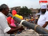 Raining of flowers occurred at historical Manda Puja in Ranchi